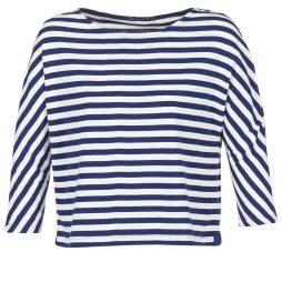 T-shirts a maniche lunghe donna Petit Bateau  TROKL  Blu Petit Bateau 3102273542137