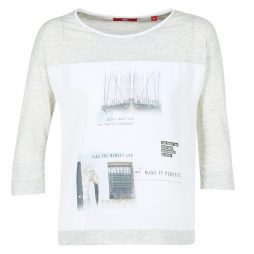 T-shirts a maniche lunghe donna S.Oliver  JIVATOULE  Grigio S.Oliver 4058216276203