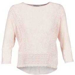 T-shirts a maniche lunghe donna Vero Moda  MYBELLA  Rosa Vero Moda 5713024631109
