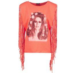 Top donna Brigitte Bardot  BB44075  Arancio Brigitte Bardot 3554803700171