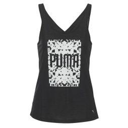 Top donna Puma  ESSENTIAL DRIRELEASE TANK  Nero Puma 4059504439492