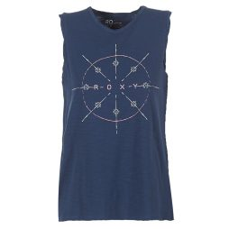 Top donna Roxy  TIME FOR AN OTHER YEAR  Blu Roxy 3613373387967