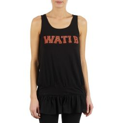 Top donna Wati B  TUNIQ  Nero Wati B 3001260627249
