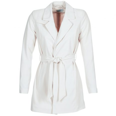 Trench donna Only  DICTE RUNA  Bianco Only 5713726186426