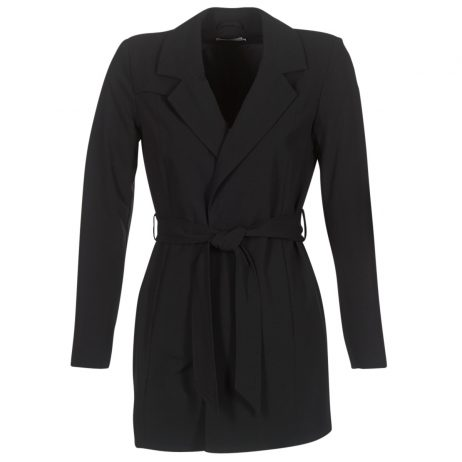 Trench donna Only  DICTE RUNA  Nero Only 5713726185900