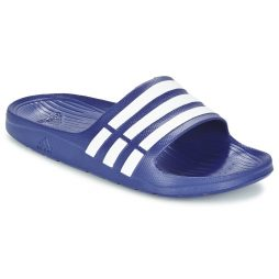 ciabatte donna adidas  DURAMO SLIDE  Blu adidas 4049855726945