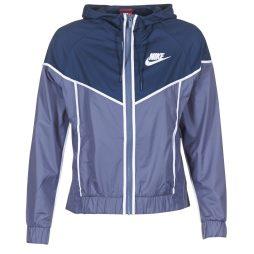 giacca a vento donna Nike  WINDRUNNER  Blu Nike 887229639392