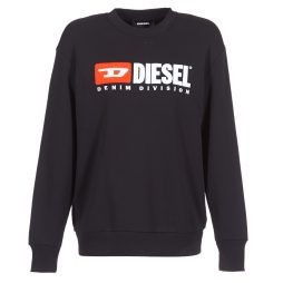 Felpa donna Diesel  CREW DIVISION  Nero Diesel 8053837190569
