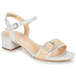 Sandali donna Clarks  Orabella Shine  Bianco Clarks 5050408407241