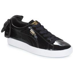Scarpe donna Puma  WN SUEDE BOW PATENT.BLACK  Nero Puma 4059507691248