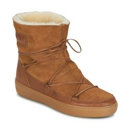 Stivaletti donna Moon Boot  MOON BOOT PULSE LOW SHEARLING  Marrone Moon Boot 8050459503678