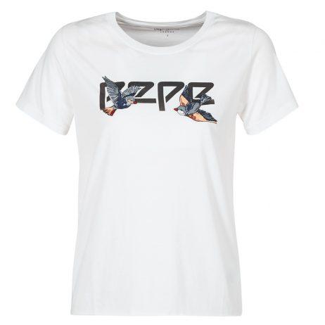 T-shirt donna Pepe jeans  DIANA  Bianco Pepe jeans 8434538600913