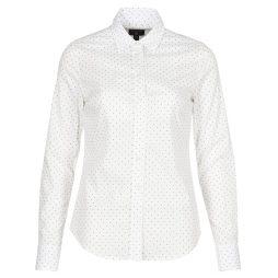 Camicia donna Gant  POLKADOT STRETCH BROADCLOTH  Bianco Gant 7325702507040