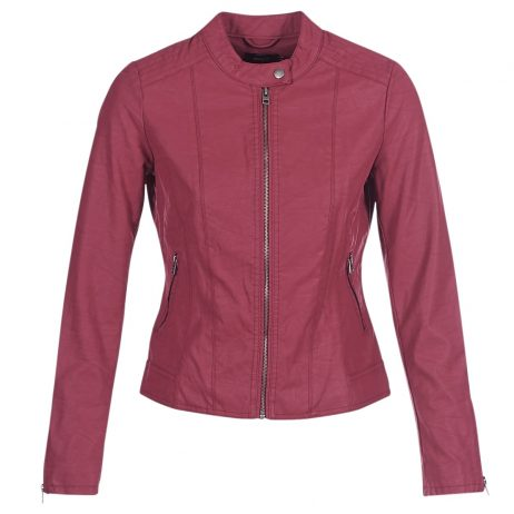 Giacca in pelle donna Only  ONLSAGA Only 5713741189501