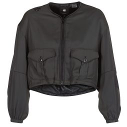 Giubbotto donna G-Star Raw  RACKAM OS CROPPED BOMBER  Nero G-Star Raw 8719369371295