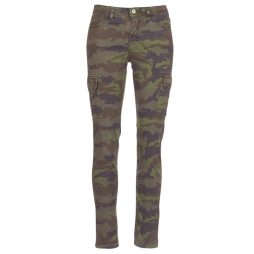 Pantalone donna Schott  TR CARGO SLIM  Verde Schott 3417751002462