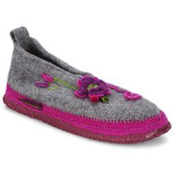 Pantofole donna Giesswein  TANGERHÜETTE  Grigio Giesswein 9009553303294