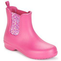 Stivaletti donna Crocs  FREESAIL CHELSEA BOOT  Rosa Crocs 191448216518