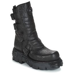 Stivaletti donna New Rock  FURIS  Nero New Rock 8434545416149