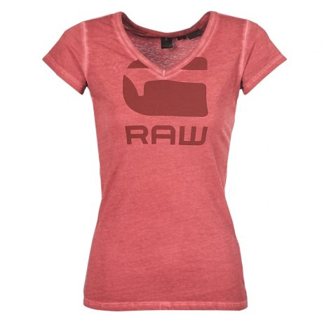 T-shirt donna G-Star Raw  SUPHE SLIM  Rosso G-Star Raw 8719369849916