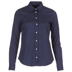 Camicia donna Gant  POLKADOT STRETCH BROADCLOTH  Blu Gant 7325702507125