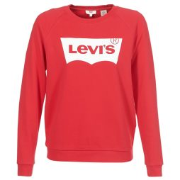 Felpa donna Levis  RELAXED GRAPHIC CREW  Rosso Levis 5400599162571