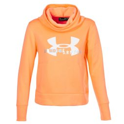 Felpa donna Under Armour  COTTON FLEECE SPORTSTYLE LOGO HOODIE  Arancio Under Armour 192007690596