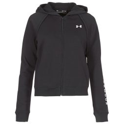 Felpa donna Under Armour  RIVAL FLEECE FZ HOODIE  Nero Under Armour 191632452326