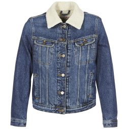 Giacca in jeans donna Lee  SHERPA RIDER  Blu Lee 5400806216776