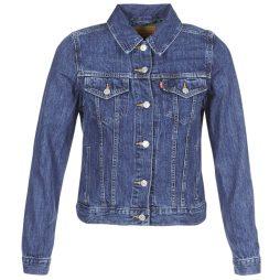 Giacca in jeans donna Levis  ORIGINAL TRUCKER  Blu Levis 5400537955456