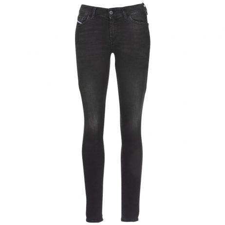 Jeans skynny donna Diesel  SLANDY  Nero Diesel 8053837375027