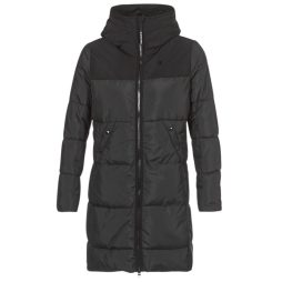 Piumino donna G-Star Raw  WHISTLER HDD QLT SLIM LONG COAT  Nero G-Star Raw 8719369940385