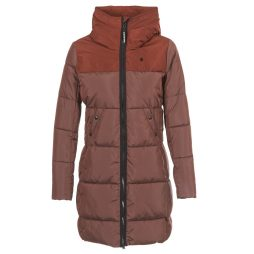 Piumino donna G-Star Raw  WHISTLER HDD QLT SLIM LONG COAT  Rosso G-Star Raw 8719369820366