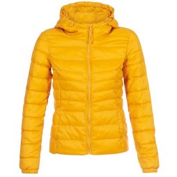 Piumino donna Only  ONLTAHOE  Giallo Only 5713742110900