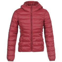 Piumino donna Only  ONLTAHOE  Rosso Only 5713742552229