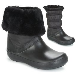 Scarpe da neve donna Crocs  CROCBAND WINTER BOOT  Nero Crocs 191448218017