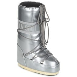 Scarpe da neve donna Moon Boot  MOON BOOT VYNIL MET  Argento Moon Boot 8050459339024
