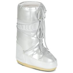 Scarpe da neve donna Moon Boot  MOON BOOT VYNIL MET  Bianco Moon Boot 8050459338881