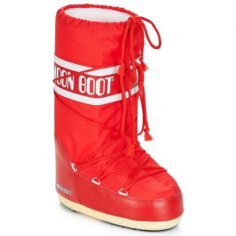 Scarpe da neve donna Moon Boot  NYLON  Rosso Moon Boot 8003187292581