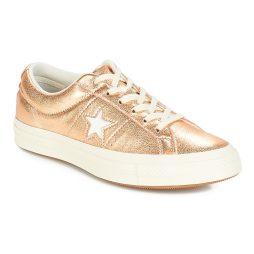 Scarpe donna Converse  ONE STAR OX  Oro Converse 888755785966