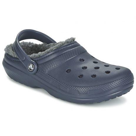 Scarpe donna Crocs  CLASSIC LINED CLOG  Blu Crocs 887350811612