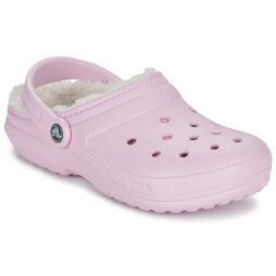 Scarpe donna Crocs  CLASSIC LINED CLOG  Rosa Crocs 887350811018