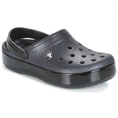 Scarpe donna Crocs  CROCBAND GLITTER CLOG  Nero Crocs 191448227958