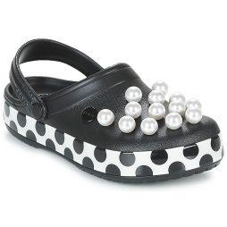 Scarpe donna Crocs  CROCBAND TIMELESS PEARLS CLOG  Nero Crocs 191448226067