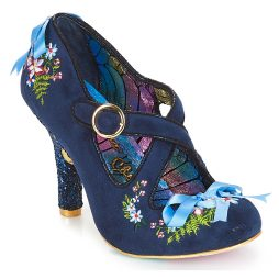 Scarpe donna Irregular Choice  Beryll Blossom  Blu Irregular Choice 5052224499929