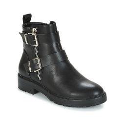 Stivaletti donna Only  BAD BUCKLE PU BOOTIE  Nero Only 5713741451868