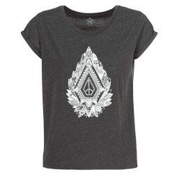 T-shirt donna Volcom  RADICAL DAZE TEE  Grigio Volcom 886608407157