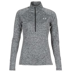 T-shirts a maniche lunghe donna Under Armour  TECH 1/2 ZIP TWIST  Nero Under Armour 191480381090