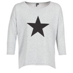 T-shirts a maniche lunghe donna Vero Moda  VMMALENA  Grigio Vero Moda 5713745524223