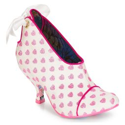 Tronchetti donna Irregular Choice  Love is all around  Bianco Irregular Choice 5052224482914